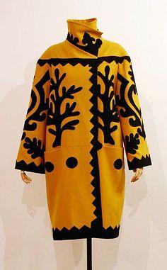 Coat, Christian Lacroix, ca. 2003, French, wool