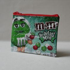 Upscycling M&M Verpackung
