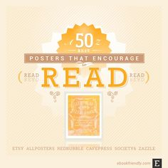 A list of most awesome read posters from Etsy, Zazzle, Redbubble, Society6 and AllPosters. For all needs and tastes.