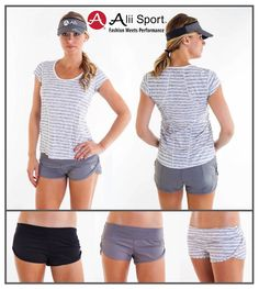 Alii Sport's Classic Running Shorts are the BEST fitting, most comfortable,  running shorts on the course. WE LOVE THESE SHORTS!  Our shorts are athletic, soft and perfect for training runs, gym workouts or just running around town. Alii Classic Shorts should be a staple in your closet. You can wear them with our classic run tee, ruched tank or long sleeve ruched jacket.  #wearalii #fashionmeetsperformance #aliisports #fashion #athleticwear #running #runners #fitness #fitfam