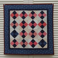 """Quilt for Sale, """"Reflections"""" is a wall quilt with a center ... : doll quilts for sale - Adamdwight.com"""