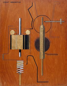Collection Online | Francis Picabia. The Child Carburetor (L'Enfant carburateur). 1919 - Guggenheim Museum