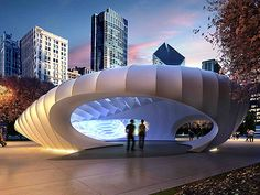 Concert Pavillion / Zaha Hadid / Millenium Park