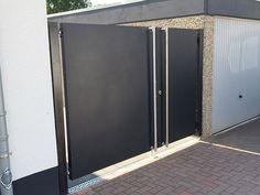 Door Gate Design, Garden Doors, Next At Home, Fence, Garage, House Design, Patio, Gardening, Outdoor