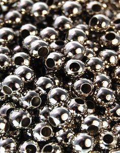 Platina Color Iron Beads