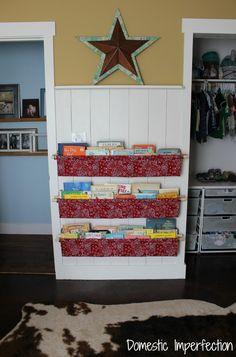 How to make book slings pinterest easy alternative and books how to make book slings book slingbookshelf diykids solutioingenieria Choice Image