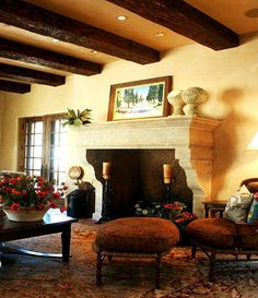 Old World Fireplaces | Old World Style Fireplace Limestone Fireplace,  Fireplace Mantle, Interior Design