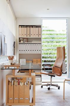 Scandinavian style home office. |  Photo: Francoise Baudet | Story: Real Living