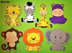 27 List of Animals That Start With B [Popular Pictures Animals] Jungle Theme Birthday, Jungle Party, Safari Party, Shower Bebe, Baby Boy Shower, Jungle Animals, Baby Animals, Zoo Party Themes, Baby Shawer