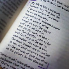 My life poem... Love this analogy! #corrietenboom #hero - @katetumia- #webstagram
