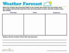 Weather Forecast for Kids | Weather Forecast, Kids Worksheets and ...