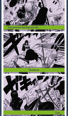 Robin & Zoro. Don't ship them but I thought this was cute