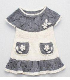 Gri beyaz örgü çocuk elbiseler Yazar: admin  Kategori: Bebek Çocuk Elbiseleri 22 Mart 201442 Gör