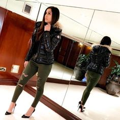 Moncler, Winter Night, Other Outfits, Puffer Jackets, River Island, Leather Pants, Black Jeans, Jackets For Women, How To Make