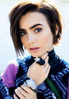 Image result for lily collins lancome makeup