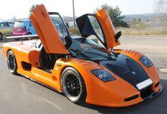 Teilfolierung Mosler 900 GTR #CarWrapping