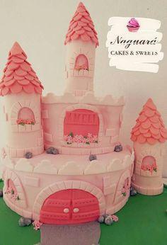 Torta castillo de princesa!