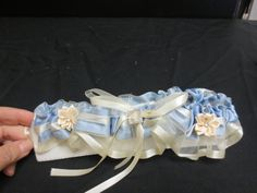 lt. blue and ivory  Flowergirls Weddings 58th & Lewis Tulsa, Ok 918-949-1553 www.flowergirlsoftulsa.com