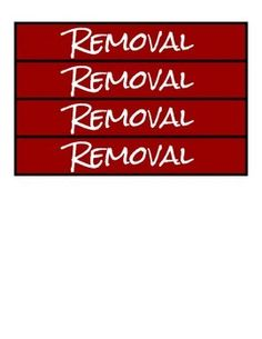 Use these cards to indicate to a student when he or she is being removed from your classroom setting. The student may also need to use this card as an entry ticket to his/her safe place such as the principal's office, the behavior classroom, or a quiet room.