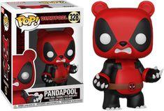 Funko Pandapool (Hot Topic Exclusive): Deadpool x POP! Deadpool Funko Pop, Funko Pop Marvel, Funko Figures, Vinyl Figures, Action Figures, Funk Pop, Best Funko Pop, Funko Pop Anime, Funko Pop Dolls