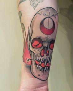 UK 12 14 16-teschio orrore Women/'s scheletro e SAILOR VINTAGE TATTOO T-SHIRT
