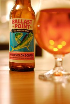 #CraftBeer Review: #BallastPoint Watermelon Dorado Double #IPA. #beertography