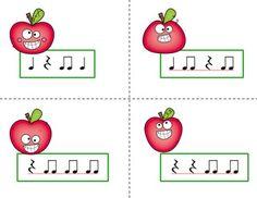 Pick the Apple Rhythm Practice Game {Bundled Set} by Mrs Stouffer's Music Room   Teachers Pay Teachers