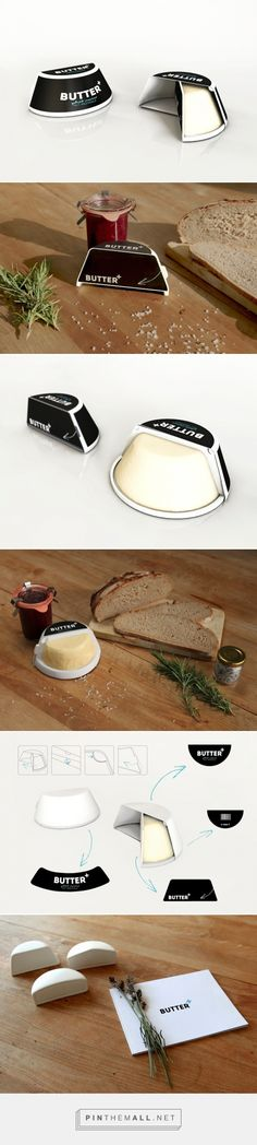 #Butter Plus #convenient #packaging  designed by Marta Suslow & Mara Holterdorf - http://www.packagingoftheworld.com/2015/07/butter-plus.html