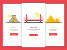 Image result for onboarding tutorial screen
