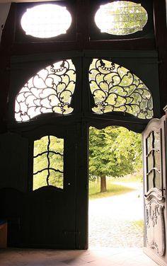 door: Open Air Museum Detmold from inside