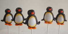 POP BAKERY: Pingu Cake Pops - (Inspiration)