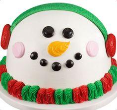 Baskin-Robbins   Snowman Cake - uM YES PLEASE!