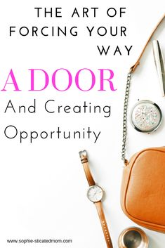 If a door doesn't open build you own door and create your own opportunities