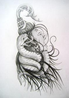 Another awesome Shiva tattoo idea Shiva Tattoo Design, Clock Tattoo Design, Tattoo Designs, God Tattoos, Body Art Tattoos, Pencil Art Drawings, Art Drawings Sketches, Lord Shiva Sketch, Mahadev Tattoo