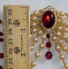 Renaissance Bodice Jewellery Medieval Elizabethan Tudor