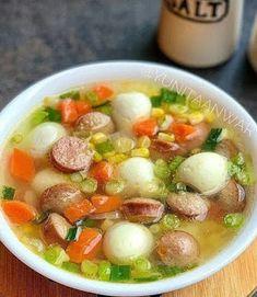 Sup Jagung Sosis