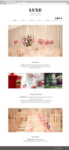 Luxe | Decor, Styling, Props
