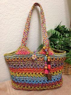 66b4401ec627 Cappelli Straworld Multicolor Woven Straw Shoulder Handbag Bag Beaded  Tassel  Cappelli  ShoulderBag Shoulder Handbags