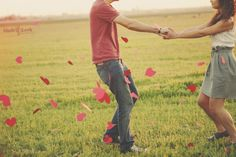 Nice pose and crop. The paper hearts lend a whimsical touch.