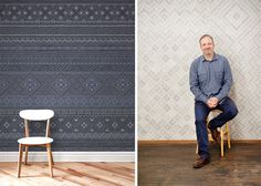 Wallpaper Patterns with Quercus & Co.