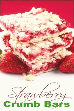 #Summer #dessert #ideas #flavor #strawberry Strawberry Crumb Bars  Flavor Mosaicbrp classfirstletterflavor and The largest magnificently figure at PinterestpCharacteristic of The Pin Strawberry Crumb Bars  Flavor MosaicbrThe pin registered in the Bars board is selected from among the pins with high image quality and suitable for use in different areas Instead of wasting time between a extensive count of alternatives on Pinterest it will save you time to explore the favorite quality options… Strawberry Filling, Strawberry Desserts, Strawberry Brownies, Chocolate Chip Cookie Cheesecake, Chocolate Chip Cookies, No Bake Desserts, Easy Desserts, Microwave Desserts, Trifle Pudding