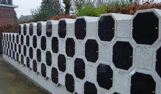 Achthoek columbarium beton | Octagon Columbarium