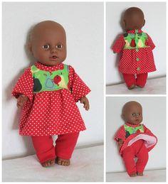 Puppenkleidchen nähen