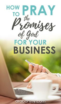 We love to pray the promises of God, and we're starting a new prayer challenge geared specifically toward learning ways to pray for your business. Click through to learn how you can join this challenge and pray God's promises back to Him as you pray for your business.  #prayer #business #womeninbusiness #Christianblogger #prayerchallenge