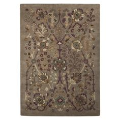 Thinking this might go great in my new office Stanton Sahara Area Rug - Grey