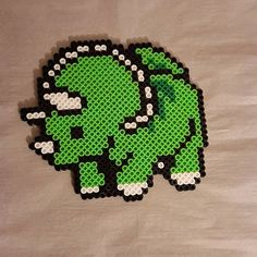 Triceratops perler beads by peckapon