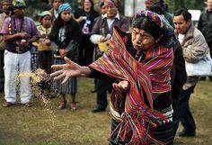 Ritos mayas en Guatemala