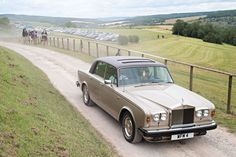 Rolls Royce rolling over the Sussex Downs    Image by Matt Stuart