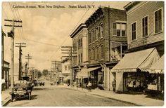 Castleton Ave., West New Brighton, Staten Island, NY
