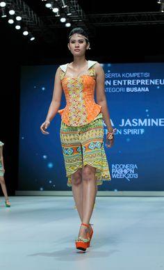 IFW 2013 # 222 Riska Jasmine – Teen Spirit Indonesia Fashion Week, Jasmine, Peplum Dress, Spirit, Teen, Dresses, Vestidos, Dress, Gown